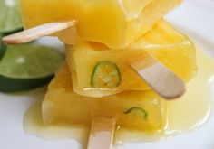 One of my favorites is fresh mango and the way it is prepared at food trucks throughout Mexico. It is so good that it's hard to believe it is so simple. Fresh mango, cut into strips, is then spritzed with fresh lime juice and dusted with salt and chili powder. How good does that sound?
