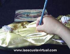 Introduccion al policromado de imagenes, curso de introducción al policromado, como pintar las imagenes religiosas
