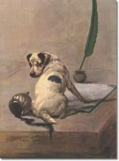 Maud Earl - Fox Terrier Puppy