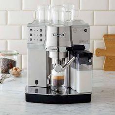 http://www.cadecga.com/category/Espresso-Maker/ Delonghi Dedica Cappuccino & Espresso Maker #williamssonoma