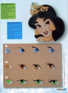 Eye helps.  Thinking I could use these as patterns for dolls' eyes. Pin for keepsakes.
