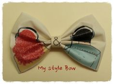 Eleanor & Park    Rainbow  Style  Hair Bow Clip by MyStyleBow, $9.99