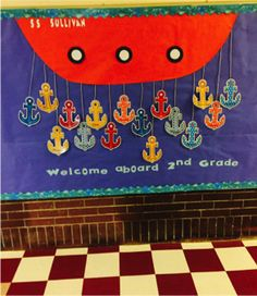 This pin has lots of different bulletin board ideas. I really like the bulletin boards that have either the student's pictures on them, or that leave space to put the kid's work on. I think it's important that bulletin boards are about the kids.