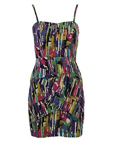 Super Cute Splatter Sun Dress