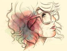 Eleanor by Malena Flores, via Behance