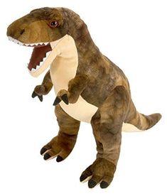 c5c8306274eb Wild Republic T-Rex Plush Dinosaur Stuffed Animal Toy Gifts For Kids  Dinosauria  WildRepublic