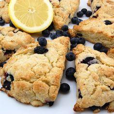 KEEPER! - Lemon Blueberry Scones (add some crystallized ginger)