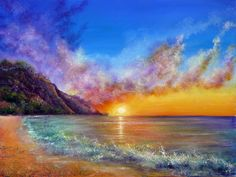Endless Days by =AnnMarieBone/ Acrylic on Deep Edge Canvas