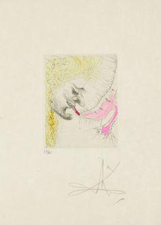 Man Kissing Shoe | Salvador Dalí, Man Kissing Shoe
