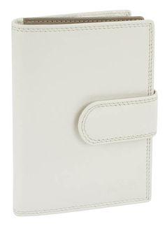Damenbörse mit Riegel (beige) - M17704BE