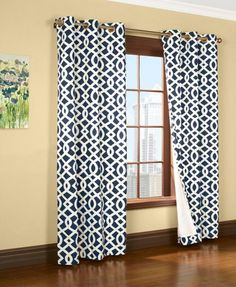 """Amazon.com - Trellis Thermalogic Red 80"""" X 95"""" Grommet Top Curtains - Window Treatment Curtains"""