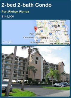 2-bed 2-bath Condo in Port Richey, Florida ►$145,000 #PropertyForSale #RealEstate #Florida http://florida-magic.com/properties/88398-condo-for-sale-in-port-richey-florida-with-2-bedroom-2-bathroom