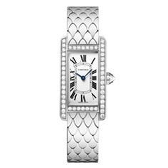 Reis-Nichols Jewelers : Cartier Tank Americaine Watch - a top item on our @Polyvore page