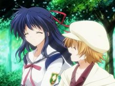 I love this episode of Clannad After Story even though I cried at the end