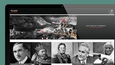 #layout #webdesign @Behance https://www.behance.net/gallery/21882845/Polish-history