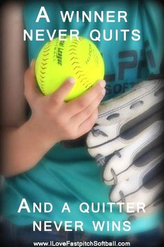 If you're like many baseball fans, you know how great the sport is. A lot of people out there haven't gotten into a game and don't know what they're missing. Motivational Softball Quotes, Funny Softball Quotes, Softball Rules, Softball Workouts, Softball Problems, Softball Cheers, Girls Softball, Fastpitch Softball, Softball Players