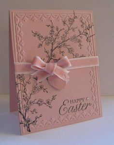CAS107 Easter Blossoms by nancy littrell - Cards and Paper Crafts at Splitcoaststampers