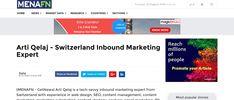 Arti Qelaj - Switzerland Inbound Marketing Expert MENAFN - Press Release Submission Marketing Data, Inbound Marketing, Press Release, Submission, Switzerland, Content Marketing