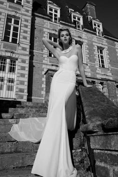 Inbal Dror 2013 bridal collection, available at Helen Rodrigues Bridal.