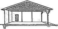 Free Framing and Utility Building Plans Carport Plans, Home Jobs, Building Plans, Gazebo, Outdoor Structures, How To Plan, Kiosk, Pavilion, Architecture Plan