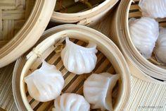 Lekkerste Ha kau dim sum. Lees de uitslag van dimsum smaaktest op food blog mevryan.com.  #lekkerste #beste #hakau #harkau #garnalen #pastei #dumplings #dimsum #hapjes #Chinees #eten
