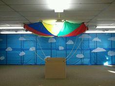 Hot air balloon for sky vbs