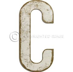 Letter G Vintage Black Cutout  Sizes Custom Vintage Signs