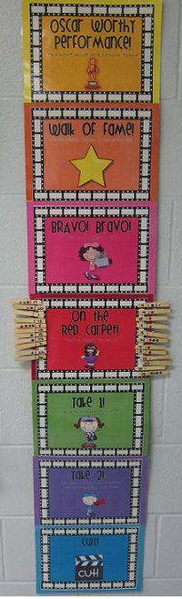Red carpet behaviour management chart Classroom Behaviour, Classroom Behavior Management, Classroom Organisation, Classroom Environment, Classroom Displays, Classroom Setup, Classroom Setting, Behavior Management Strategies, Behavior Incentives