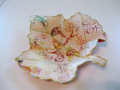 Fabric Bowl by BarbarasArtQuilts on Etsy