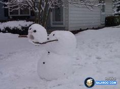 34 Pictures of Funny Snowman