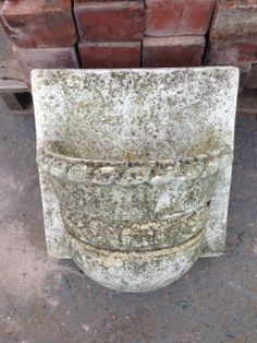 Reconstituted wall planters for sale on SalvoWEB from Wye Valley Reclamation in Hereford [ Salvo code dealer