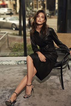 IBANA FW 2018 Campaign Leather Skirt, Feminine, Legs, Skirts, Campaign, Portraits, Beautiful, Design, Fashion