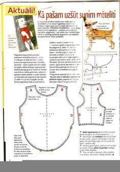 hand made dog wear одежда для собак своими руками - Szukaj w Google