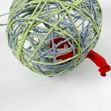 13346 Eieren gemaakt van papiergaren