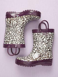 Printed Rain Boot by PluiePluie Rainwear on sale now on #Gilt.