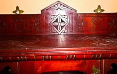 Eastlake-antique-mahogony-Aesthetic-Curio-cabinet-beveled-mirror-orig-hardware