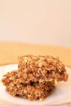 cindy cooks: Apple-Peanut Butter Snack/Breakfast Bars (Gluten- and Sugar-Free)