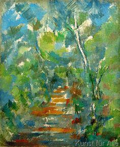 Paul Cézanne - Sousbois provençal