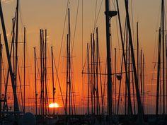 Sunset in Punta Ala Italian Talks Baglioni Hotels Photo by Debra Kolkka #Photography