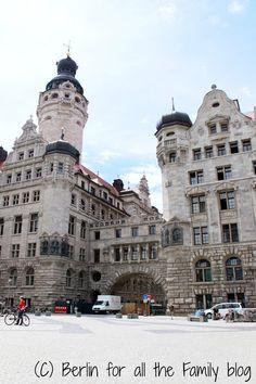 Altstadt Leipzig from blog post 'Leipzig for all the Family Part I'