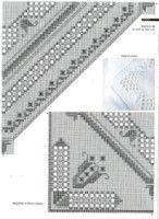 "Gallery.ru / Mur4a - Альбом ""28"" Hardanger Embroidery, Hand Embroidery Stitches, Embroidery Patterns, Drawn Thread, Bargello, Needful Things, Gallery, Mina, Needlework"