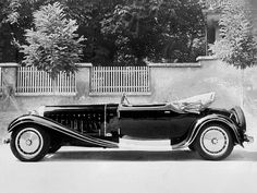 Bugatti Type 41 Royale Victoria Cabriolet body by Weinberger, 1931