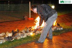 24 brave individuals gathered together at Little Bridge House in Fremington to walk on fire and raise funds for Children's Hospice South West.  It was the first time a Firewalk had been held at Little Bridge House and the event was one of many fundraisers the charity holds to benefit life-limited children and their families from across the South West.  Photos courtesy of Tom Teegan. Find out more about events by visiting our website >  www.chsw.org.uk #firewalk #chsw #charity