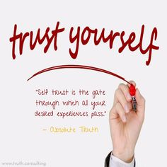 What is trust in yourself, in AbsoluteTruth?  To find out more + a free online counselling session, visit www.truth.consulting.