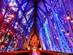 Stained glass - Jewel church