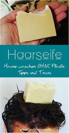 Hair Soap The Plastic Free Alternative to Shampoo live life green Hair soap is a great alternative to shampoo. Zerowaste, completely without plastic packaging and no alternative diyinterieur diypaper diypillows diysoap green Hair Life LIVE plastic p Diy Shampoo, Shampoo Bar, Maquillaje Smokey Eyes, Matte Nail Polish, Diy Hair Care, Plastic Packaging, Pumpkin Spice Cupcakes, Green Life, Home Made Soap