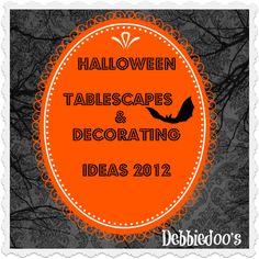 #Halloween #crafts, and my #Halloween #tablescapes
