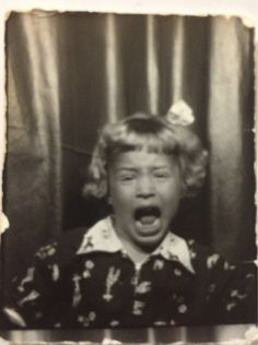 Screaming Tantrum in the Photo Booth