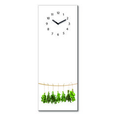 Hanging Herbs Hanging Herbs, Clock, Home Decor, Custom Cars, Magnets, Tag Watches, Room Decor, Clocks, Home Interior Design