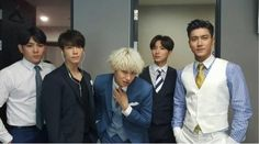 Super Junior's Siwon Shares A Group Photo Of Super Junior Members In Suits - http://imkpop.com/super-juniors-siwon-shares-a-group-photo-of-super-junior-members-in-suits/